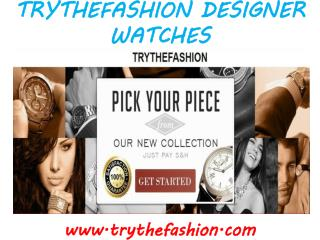 TryTheFashion Watches