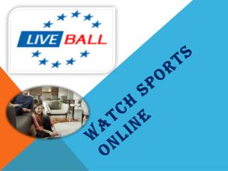 Watch Sports Online
