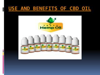 What is cbd - A non-psychoactive cannabinoid