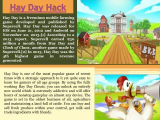 Hay Day Cheat