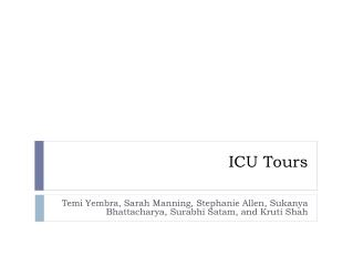 ICU Tours