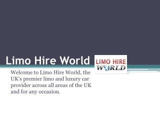 Limo hire Southampton and Reading – Able to Provide the Customized Support