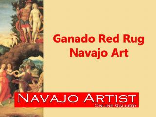 Ganado Red Rug Navajo Art