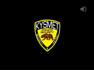 Kysmet Security & Patrol