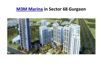 M3M Marina Sector 68 Gurgaon