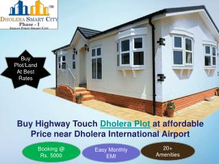 Buy Dholera Plot at Affordable Price near Airport
