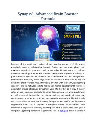 http://www.healthproducthub.com/synapsyl-reviews/