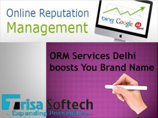 ORM Services Delhi