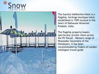 Book Hotel Guncha Siddhartha Dalhousie online