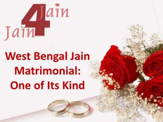 West Bengal Jain Matrimonial: One of Its Kind