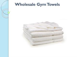 Wholesale Bath and Gym Towels