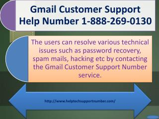 1-888-269-0130 Gmail Customer Helpline Phone Number