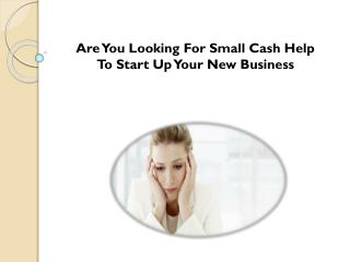 Small Business Loans- Obtain Finance For Improving Your Business