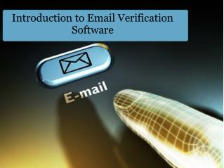 Introduction to Email Verification Software