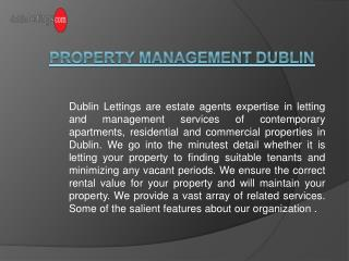 Property Management Dublin