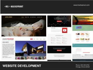 Website development service by hacksprout