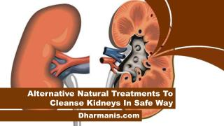 Alternative Natural Treatments To Cleanse Kidneys In Safe Way