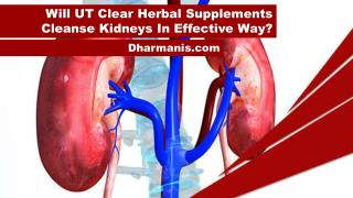 Will UT Clear Herbal Supplements Cleanse Kidneys In Effective Way?