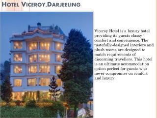 Book Hotel Viceroy Darjeeling online
