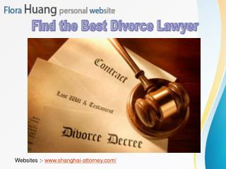 Find the Best Divorce Lawyer in Your City