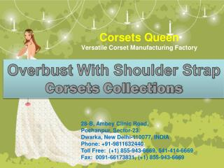 OVERBUST WITH SHOULDER STRAP - CORSETSQUEEN.COM