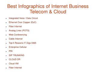 Best Infographics of Internet Business Telecom & Cloud