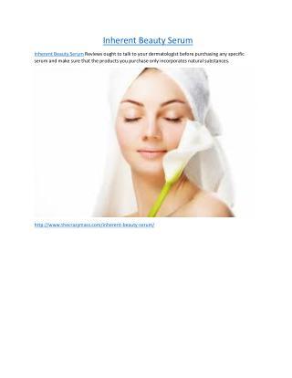 http://www.thecrazymass.com/inherent-beauty-serum/