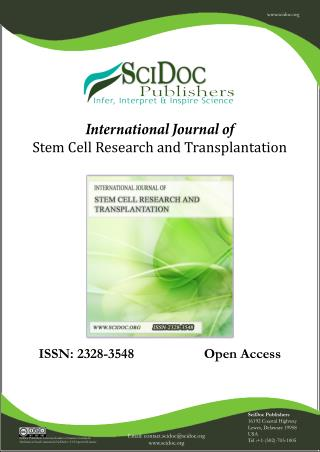 Stem cell network-SciDocPublishers