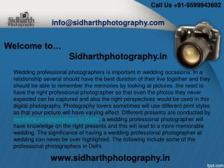 Expert Wedding Photographers in Delhi