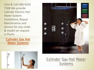 Cylinder Gas Hot Water Systems