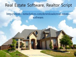 Real Estate Software, Realtor Script