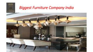 Biggest Furniture Company India