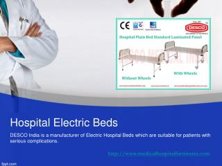 Hospital Electric Beds | DESCO