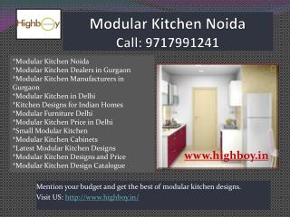 Modular Kitchen Noida, Delhi, Gurgaon, Ghaziabad, Faridabad