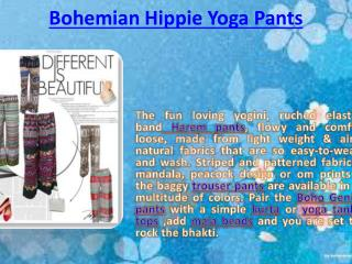 Bohemian Hippie Yoga Pants