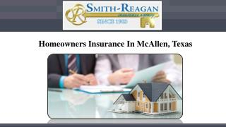 Homeowners Insurance In McAllen, Texas
