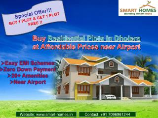 Buy Residential Plots in Dholera, Gujarat