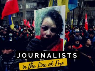Journalists in the line of fire