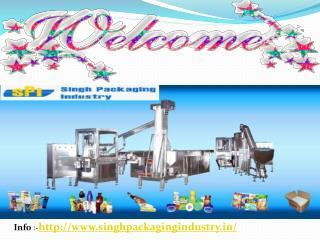 Singh Packaging Industry  like pouch packaging machine  Materials in India