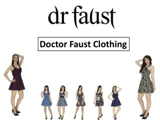 Doctor Faust Clothing : Short Dress, Mini Dress, Designer Dr