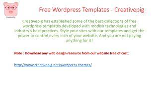 Wordpress Ploaroid Template