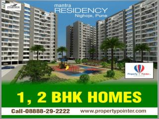 Mantra Residency Nighoje Pune by Mantra Properties- 8888292222
