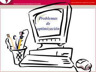 Problemas de optimizaci n