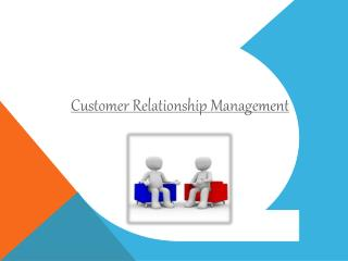 Customer Relationship Management - Microlabs Pvt Ltd