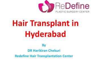 The best hair transplant Surgery in Hyderabad