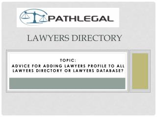 Lawyers Directory | Barrister Directory