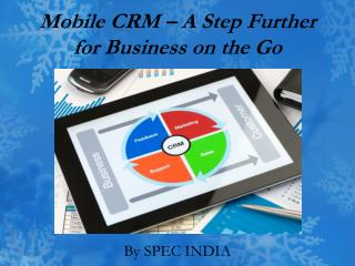 Mobile CRM – A Step Further for Business on the Go