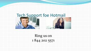 1 844 202 5571 Hotmail Technical Support Phone Number