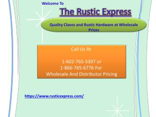 Adhesive Clavos and Door Straps of Rustic Express