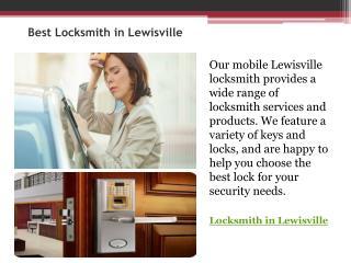 Best Locksmith in lewisville